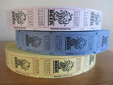 50 or 100 Beer Drink Tokens Tickets Wedding Favours Party Event Celebration Fair