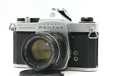 【EXC+5】 Asahi PENTAX SP Spotmatic + Super Takumar 55mm f1.8 Lens From JAPAN s294