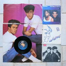 """Wham! - Bad Boys 7"""" poster pochette + 2 for free + 2 gratuit"""