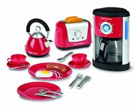 Casdon 647 Toy Morphy Richards Kitchen Set Coffee Maker Kettle Toaster NEW