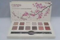 Cargo Cosmetics Tokyo in Bloom Eyeshadow Palette 12 Shadows,Dual-Ended Brush New
