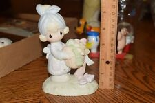 Precious Moments Enesco Be Not Weary in Well Doing 1979 Jonathan & David E-3111