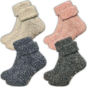 1 Paar   2 Paar   4 Paar Damen Stoppersocken   ABS Socken   70% Wolle