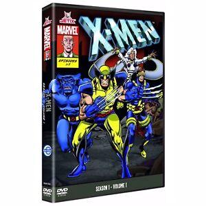 The X-Men - Series 1 Vol.1 (DVD, 2009) Marvel Studios, Free UK P&P, New & Sealed