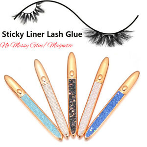 Magic Eyeliner Easy to use No Glue Magnetic Needed 2 in 1 Lash Glue Liner Pen