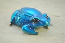 Blue Pebbles By the Frogman  Tim Cotterill RETIRED Bronze Frog