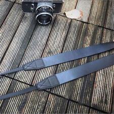 ☀CANPIS Heavy Duty Leather Camera Neck Shoulder Strap for Full Frame Medium BLK