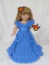 "Crochet doll pattern ""Cinderella Dream"" 18 inch doll pattern"