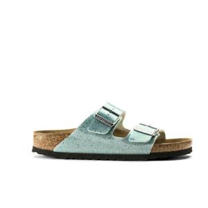 Birkenstock Arizona Birko-Flor Cosmic Sparkle Mineral Narrow Fitting Sandals