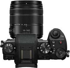 Panasonic LUMIX G7 16MP Digital SLR Camera - Black (Kit with 14-140mm Lens)