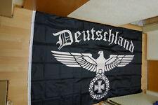 Fahnen Flagge Deutsches Reich Reichsadler Schwarz - 150 x 250 cm