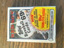 1988 Topps Cello - Wade Boggs on front  Chris Brown on back