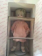 Danbury Mint Porcelain Doll / Amanda / By Nancy Leslie / Shop 1