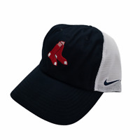 Nike Heritage Boston Red Sox Mesh Trucker Adjustable Baseball Cap Hat New