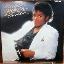 LP - MICHAEL JACKSON = THRILLER - MIT SONGTEXTE - KLAPP-COVER - 1982 - HOLLAND