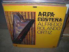 ALFREDO ROLANDO ORTIZ arpa costena ( world music ) colombia