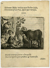 Antique Print-Donkey-Judge-Animal s-Leader Shapes A Nation-30-Savery-Veen-164 2