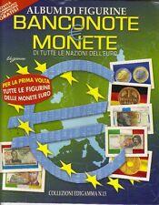 MONETE E BANCONOTE album+ bustina - EDIZIONE EDIGAMMA 2000