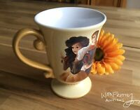 2013 Disney Designer Fairytale Couples SNOW WHITE & PRINCE Mug New Mint