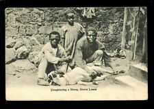 Sierra Leonean Printed Collectable Postcards