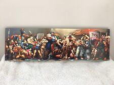 Street Fighter Art Print Styrofoam Mount Japan Quality Print Capcom Games Anime