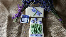 Lavender Goat Milk Soap Hand Painted Beautiful Smells Just Wonderful