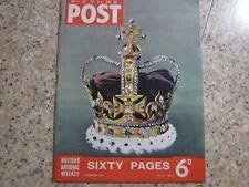 February 23rd 1952, PICTURE POST, Queen Elizabeth II, Ved Sharma, Kurt Hahn.