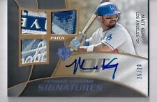 2009 Ultimate Collection Material Signatures MATT KEMP Auto Patch Logo 25/29