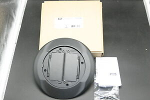 Hubbell Wiring Device-Kellems S1cfcbl Floor Box Cover Carpet Flange,Black NEW!!!