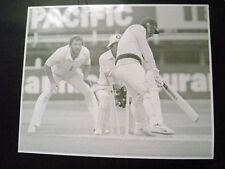 Cricket Press Photo- Rod Marsh,John Emburey in 1981 England v Aust. Test Match