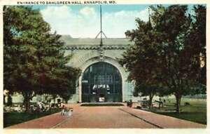 Postcard Annapolis  MD Entrance to Dahlgreen Hall SKU 1450PC