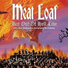 """MEAT LOAF """"BAT OUT OF HELL LIVE"""" CD NEUWARE !!!"""