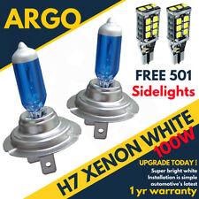 H7 100w 8500k Xenon Super White Effect Look Headlight Lamps Light Bulbs 501 Led