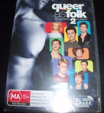 Queer As Folk The Complete 2nd Second Season 2 (Australia Region 4) DVD – New