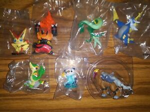 Pokemon figurines lot of 7 NEW IN SEALED PLASTIC...