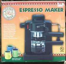 NEW Kitchen Amigo Black Espresso Maker Machine TSK-183