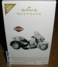 Hallmark 2010 Harley-Davidson 2009 Tri-Glide Ultra Classic Inaugural Trike LTD