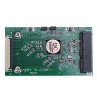 1pc Mini SATA mSATA PCI-E IPOD SSD to 40pin 1.8inch ZIF CE Converter Card L&6
