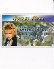 Labyrinth Jareth the Goblin King David Bowie Drivers License fake id i.d. card