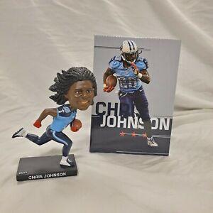 Chris Johnson Tennessee Titans Bobblehead 2019 Season Ticket Member Gift - NEW