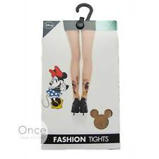 Primark Ladies Disney Mickey and Minnie Mouse Christmas Fashion Tights Pantyhose S/m