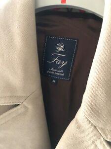 GIACCA per uomo marca  FAY  TRAVEL  JACKET originale taglia 48 in cotone