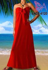 Lange geblümte Damenkleider