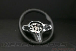 8094543 New BMW X3 G01 X4 G02 M-TECHNOLOGY Leather Steering Wheel Sport Heater
