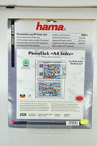 Hama Photohüllen aus PP-Folie klar No.2528
