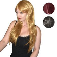 langes HAAR * Langhaar PERÜCKE 70 cm* Kunsthaar glatt* Cosplay Wig Halloween
