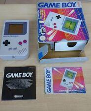 Nintendo Game boy Classic DMG-01 fat, in scatola Gig molto rara, Da Collezione