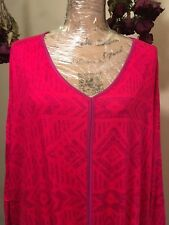 Woman's Fluid Jersey Top Size 2X By WestBound Pre - Owned