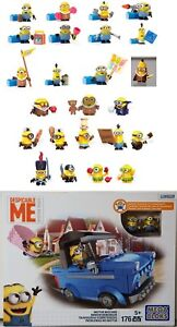 Minions Mega Bloks Select: Blind Bags Set / Set Series 3,4, DKT69