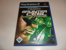 PLAYSTATION 2 PS 2 Tom Clancy 's Splinter Cell: Chaos Theory